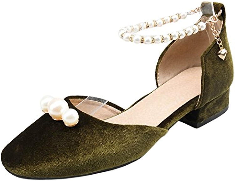 Coolcept Mujer D'Orsay Plano Sandalias  Zapatos de moda en línea Obtenga el mejor descuento de venta caliente-Descuento más grande