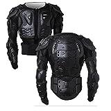 SunTime Chaqueta de Protección para Motocross Motos Ropa Protectora de Cuerpo Armadura Completo Profesional de Motocicleta Deportiva para Hombres Columna Vertebral Hombro Mujer Pecho ( Negro, 3XL )
