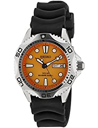 Seiko Men's Analogue Quartz Watch with Rubber Bracelet – SNE109P1