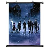 Tokyo Ghoul Anime Fabric Wall Scroll Poster (16x23) Inches