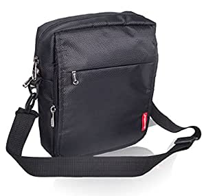 COSMUS Polyester Black Messenger Bag For Unisex  Amazon.in  Bags ... aefb985aaf1