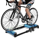 TSSM Bicicletas Instructor, Entrenamiento Bicicleta De Carretera Trainer Equilibrio Estación De Ejercicio De Resistencia Aptitud del Ejercicio De La Máquina Plegable Ajustable, Rodillo