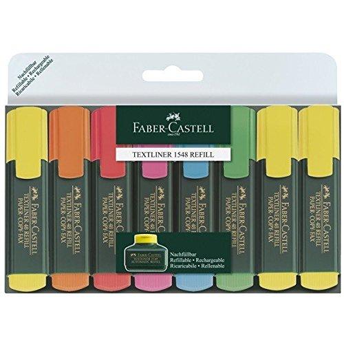 Faber-Castell TEXTLINER 48 Promo, 1 - 5 mm, 8er Etui