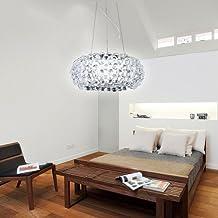 vingo 18w acryl kronleuchter modern wohnzimmer hngeleuchte leuchter pro - Kronleuchter Fur Wohnzimmer
