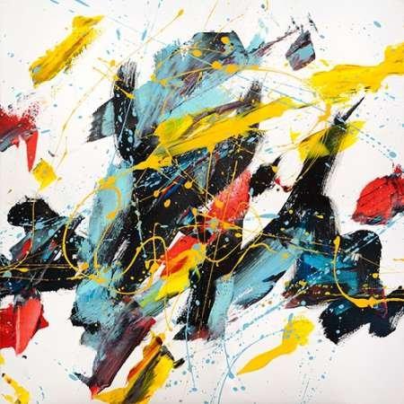 Impresión de Arte Fino en lienzo : Caprice II by Ferri, Bob - Medio (122 x 122 Cms)