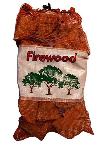 Premium madera de fresno, Secada registros de madera dura–8kg bolsa de red...