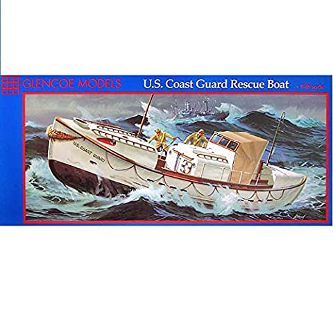 Glencoe Models 1:48 Scale US Coast Guard Rescue Boat