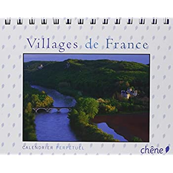 Calendrier perpétuel Villages de France