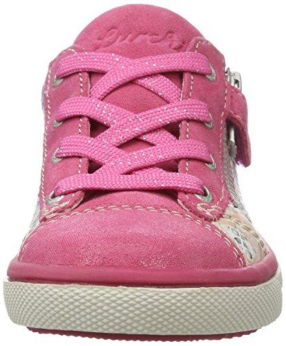 Lurchi Sanni Mädchen Low-Top Mehrfarbig (Pink)