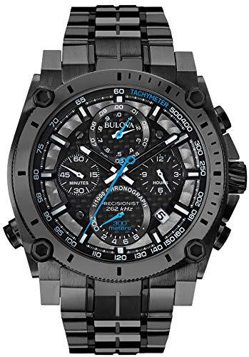 Bulova Orologio Cronografo Quarzo Uomo con Cinturino in Acciaio Inox 98B229