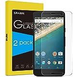 [ 2-Pack] Nexus 5X Protector de Pantalla,SPARIN® Cristal Templado para Doogle Nexus 5X,Vidrio Templado con[9H Dureza] [Alta Transparencia] [Alta Definición] [Garantía de por vida]
