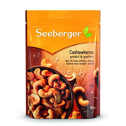 Seeberger Cashewkerne geröstet und gesalzen, 150g