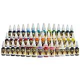 Tattoo Farben - komplettes Set - Scream 2 - 43 Flaschen x 15 ml
