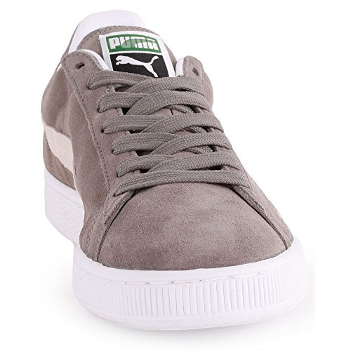 Puma Suede Classic+, Baskets Basses homme steeple gray-white