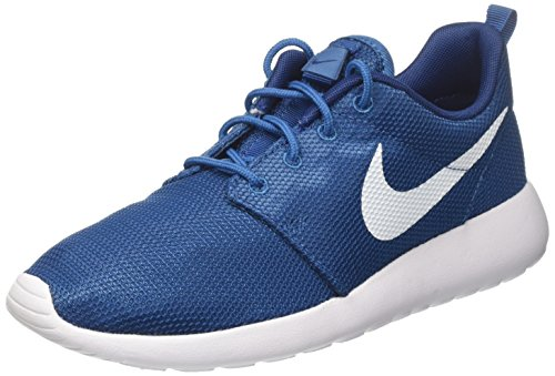 Nike Roshe One, Chaussures de Tennis Homme Bleu (Industrial Blue/white/coastal Blue/white)
