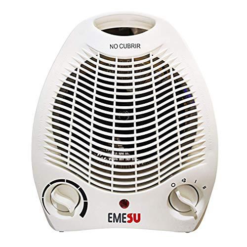 Calefactor ES-2003 1000/2000W Branco Tres Funciones