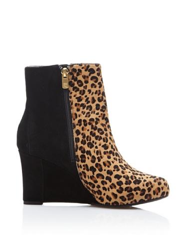 Rockport  Leopard,  Damen Booties Schwarz / Beige