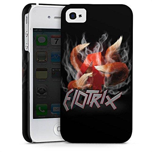 Apple iPhone X Silikon Hülle Case Schutzhülle Elotrix Fanartikel Merchandise ElotrixHD Premium Case glänzend