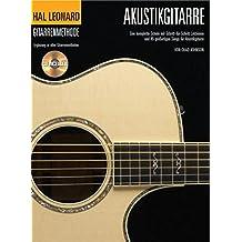 Hal Leonard Gitarrenmethode -Für Akustikgitarre- (Book & CD): Noten, Lehrmaterial, Bundle, CD für Gitarre