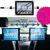 Girafus Relax H3 Universal Tablet Support appuie-tête de voiture pour banquette arrière 9-10-11' pouces pour Ipad, Samsung Galaxy, HTC, Asus Tablet PC
