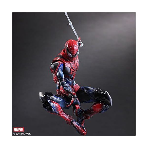 Square Enix Spiderman Marvel Universe Play Arts Kai Figura de acción 4