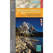Parc Nacional d\'Aigüestortes i Stany de Sant Maurici. 1:25.000. 2 mapas excursionistas. Editorial Alpina. (CARPETA ALPINA - 1/25.000)