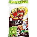 Whaou! 8 Crepes Cracky Chocolat Et Cereales - ( Prix Par Unité ) - Envoi Rapide Et Soignée