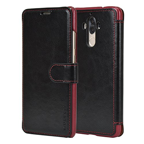 huawei-mate-9-case-59-inchblack-wallet-caselayered-dandy-pu-leather-flip-cover-with-credit-card-slot