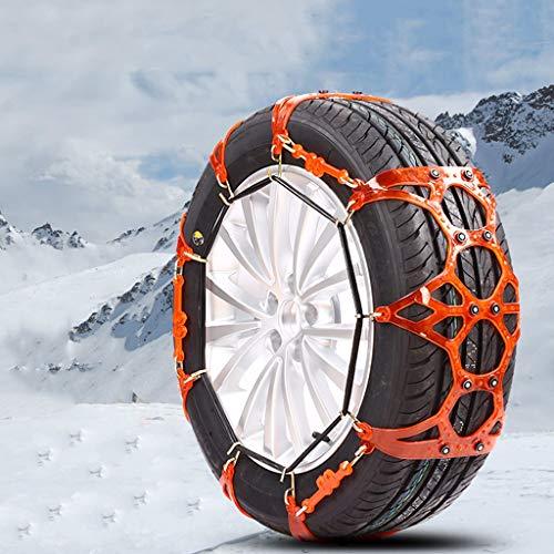 Chaîne Neige Voiture SUV Neige Pneu d'urgence chaînes à Neige Facile à Installer (Taille : 175\70R12)