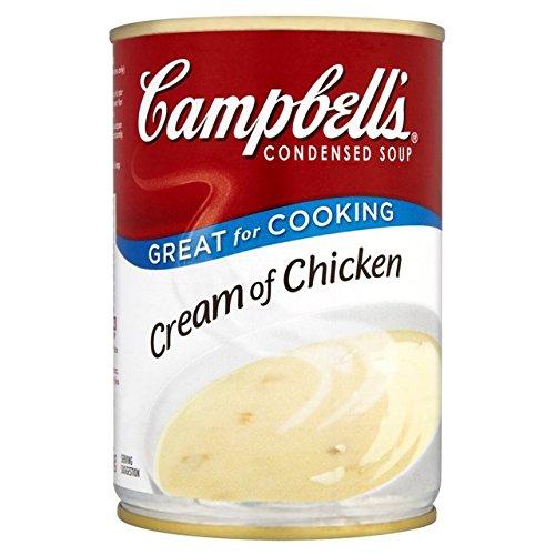 Abgedeckt Creme (Campbells Creme der Hühnersuppe 295g Condensed)