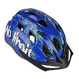 Fischer Fahrradhelm No Limit Blau, L