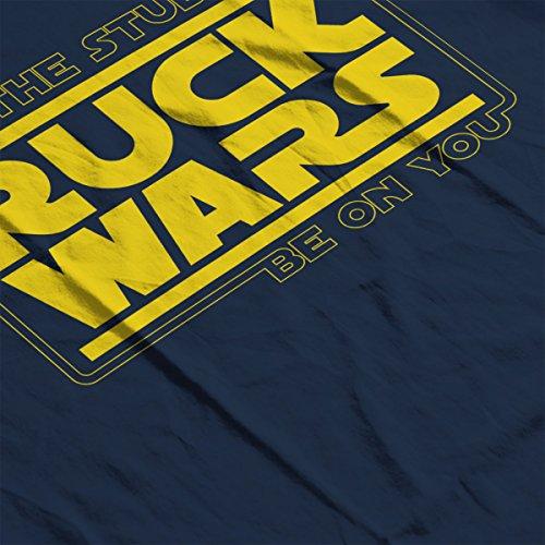 Star Wars Ruck Wars The Studs Logo Men's Hooded Sweatshirt Navy blue