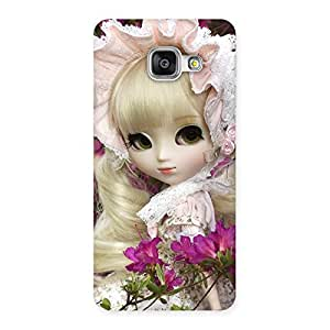 Looks Of Angel Doll Multicolor Back Case Cover for Galaxy A3 2016