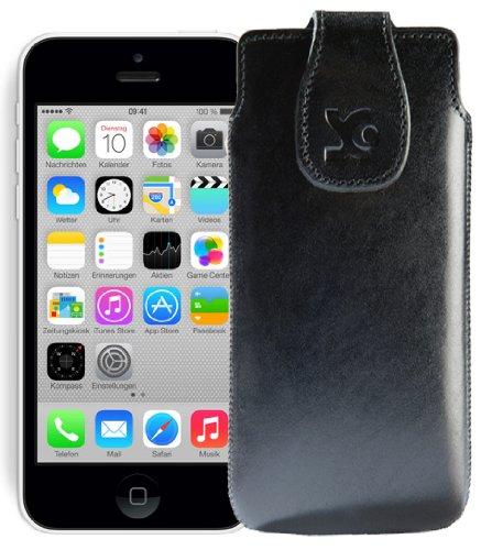 Suncase Étui pour iPhone 5C noir