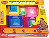 Gowi Toys 255-83 Stacking Rainbow Pyramid