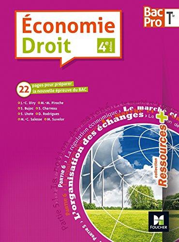 Ressources plus - ECONOMIE-DROIT - Tle BAC PRO