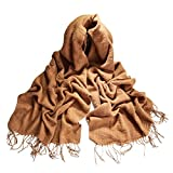 Women Autumn Winter Long Soft Warm Large Scarves Wraps Wool Spinning Tassel Shawl Long Stole Oversized Shawl Cape Style2