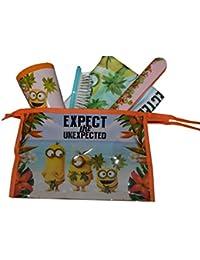 diakakis 0504203licencia los Minions Neceser de garnie plástico naranja 23x 8x 15cm 5piezas