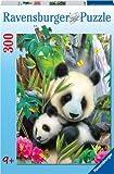 Ravensburger 13065 - Panda, Puzzle 300 Pezzi