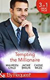 Tempting the Millionaire: An Officer and a Millionaire / Marrying the Manhattan Millionaire / Mysterious Millionaire (Mills & Boon By Request) (Man of the Month, Book 84)