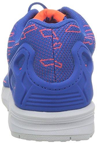 adidas Zx Flux, Chaussures de running mixte adulte Bleu (Satellite/Infrared/Running White Ftw)