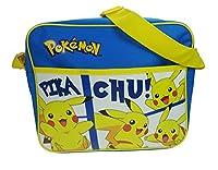 Pokemon Courier Messenger Bag, 33 cm, Blue