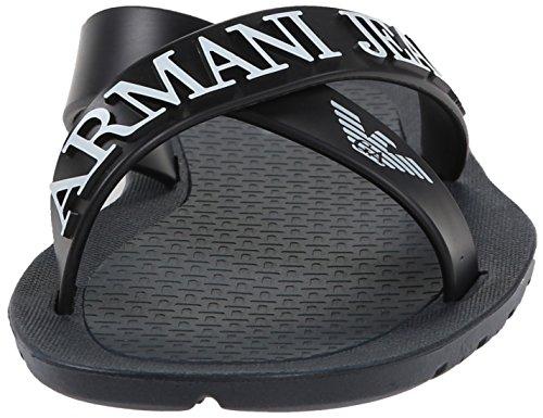 Armani Jeans 0659769 Herren Sandalen Blau (BLU - BLUE Y5)