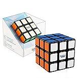 Cubo de velocidad de Rubik 3x3, Gan RSC Rubiks Cubo de velocidad 3x3x3 Puzzle Negro