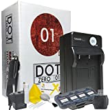 DOT-01 600 MAh Replacement Charger With Car Charger And European Adapter For Nikon EN-EL23 And Nikon Coolpix P900