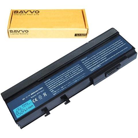 Bavvo Batería de Ordenador 9-células compatible con ACER 3250 3280 3300 6231 6291 6292 6492 6493 6553 6593