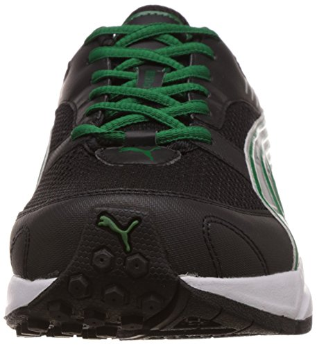 c1aa9f78f82142 Puma Men s Pluto DP Black-Amazon-Silver Running Shoes - 8 UK India ...