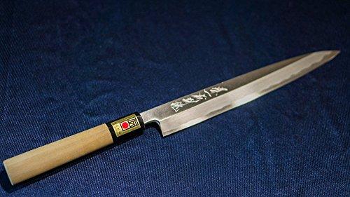 [Artesanal Sakai Japón]Hocho: Yanagiba sashimi japonés Hocho tienda de encargo cuchillo de 210mm (8.3in) hizo Artes Tradicionales - Pro Edition