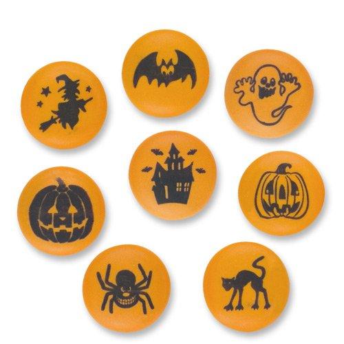 Halloween Knöpfe aus Zucker (Spinnen Halloween Cupcakes)