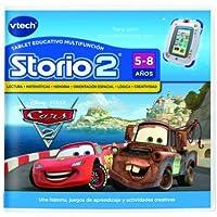 VTech Juego para tablet educativo, Storio, Cars (80-230122)